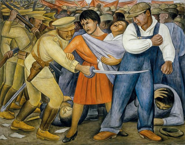 O levante - Diego Rivera